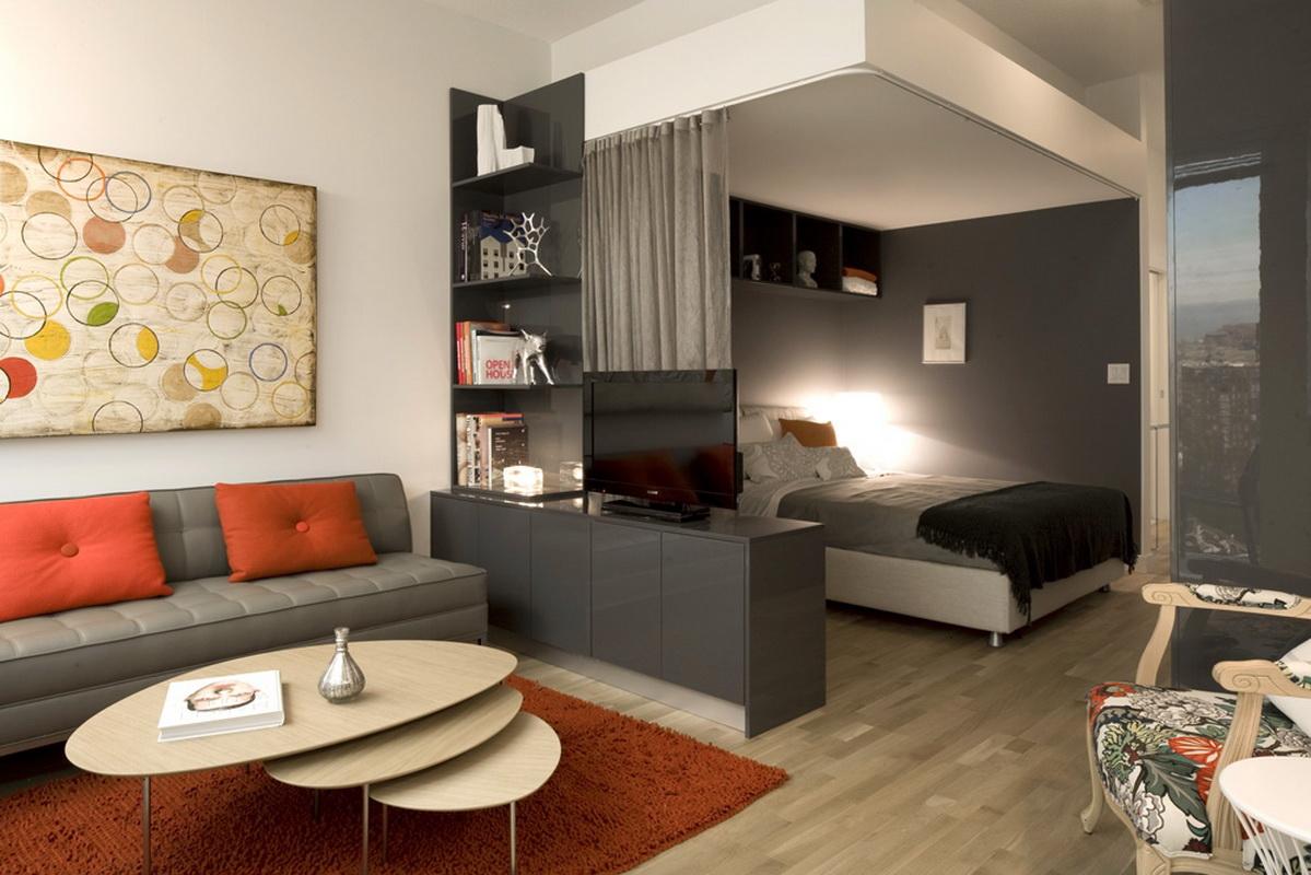 Дизайн комнаты 18 кв м спальни - гостиной с примерами в наше.