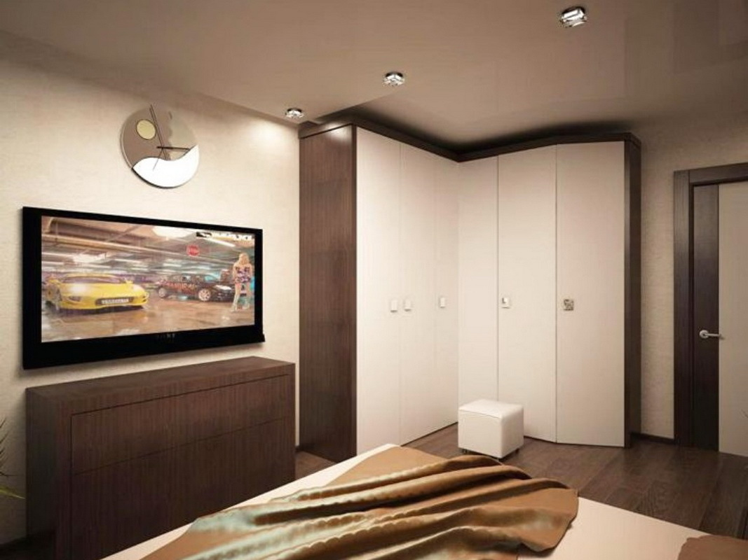 Интерьер гостиной спальни 15 кв.м фото