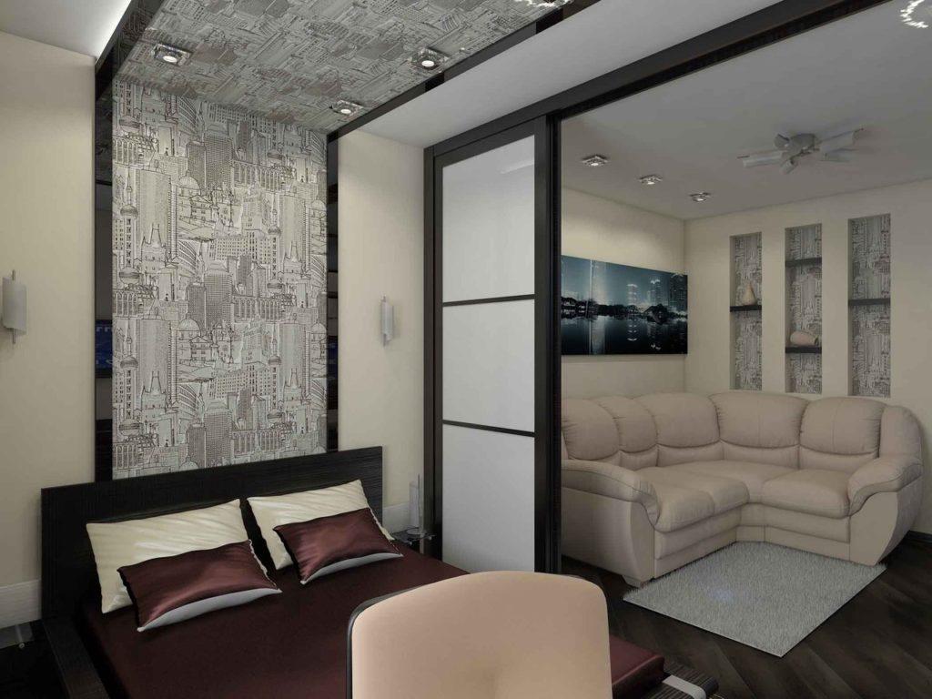 гостиная 16 кв. м дизайн фото