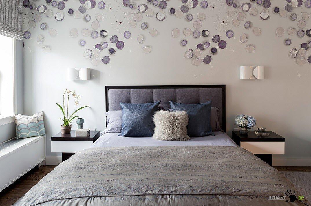 Дизайн стен спальни своими руками фото 490