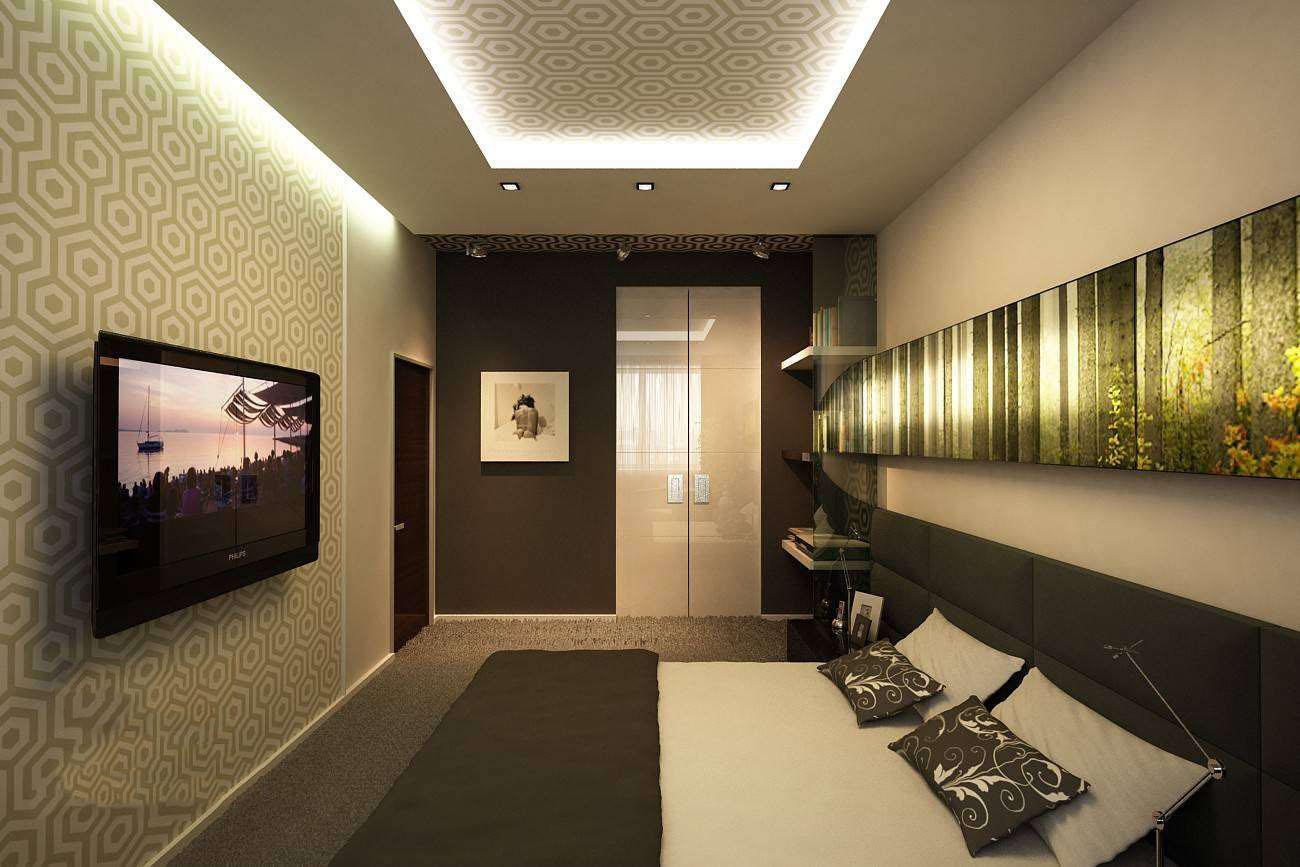 дизайн узкой комнаты с окном в конце 6
