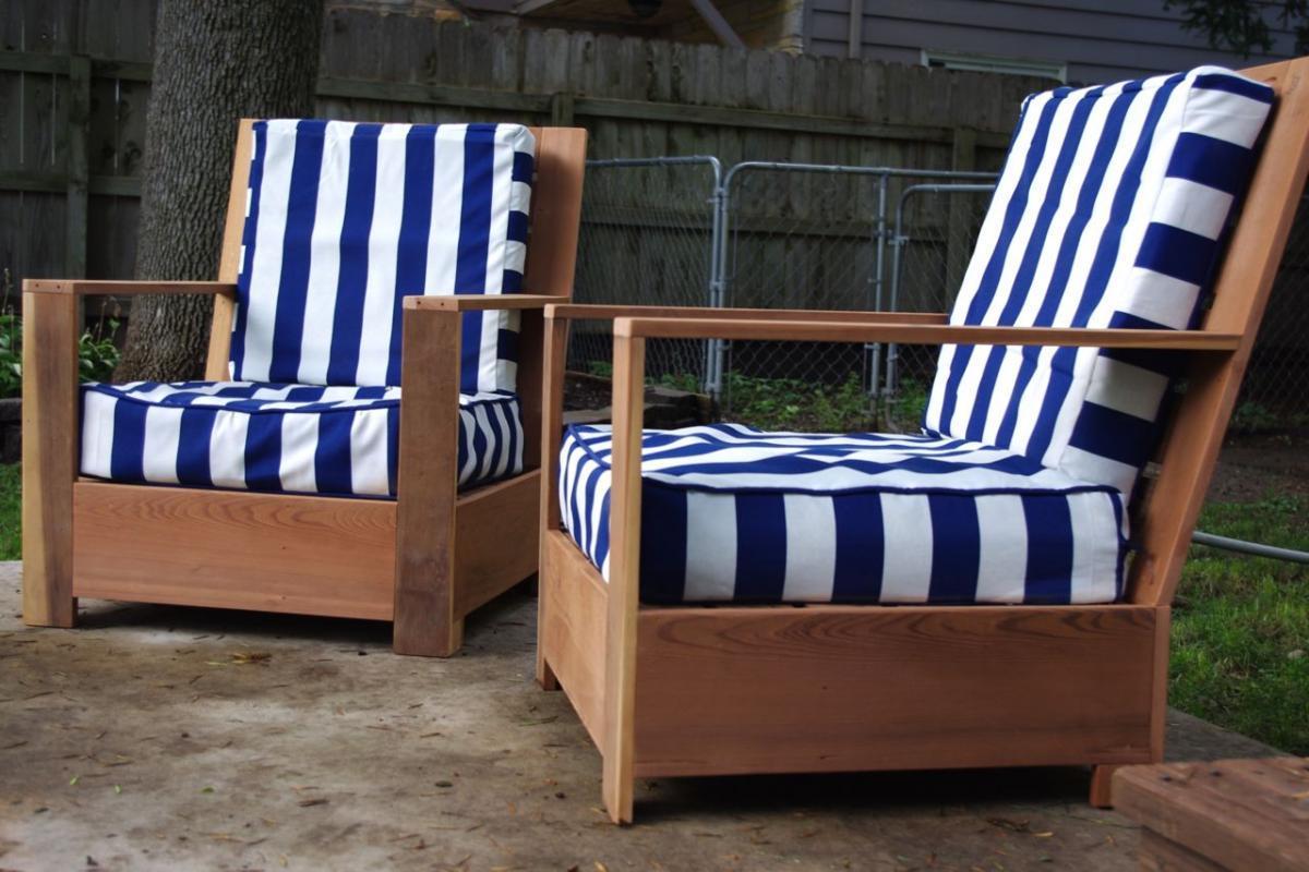Деревянные кресла для дачи своими руками 31