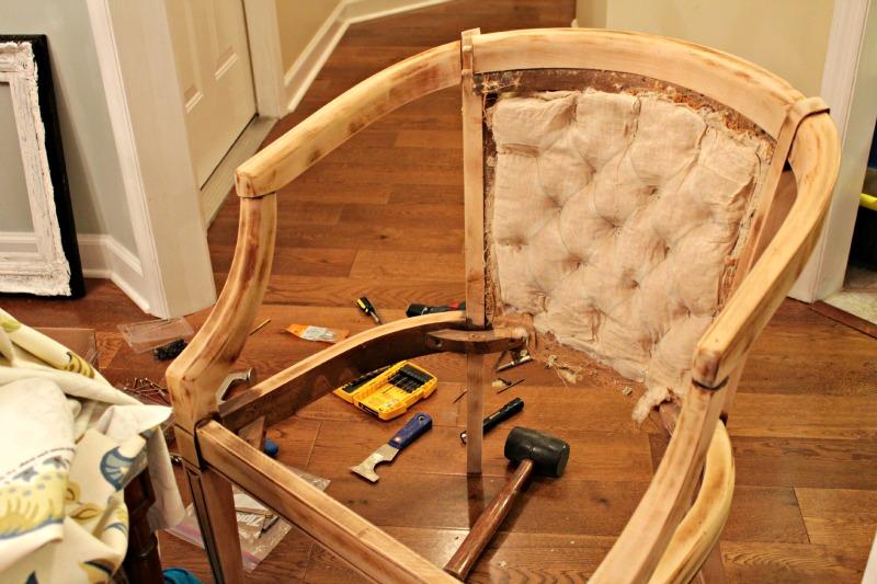Как своими руками сделать полукруглое кресло