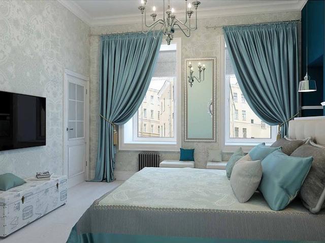 Асимметричная спальня