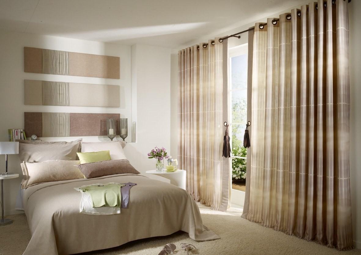 Какие шторы в моде в 2018 году фото в спальню