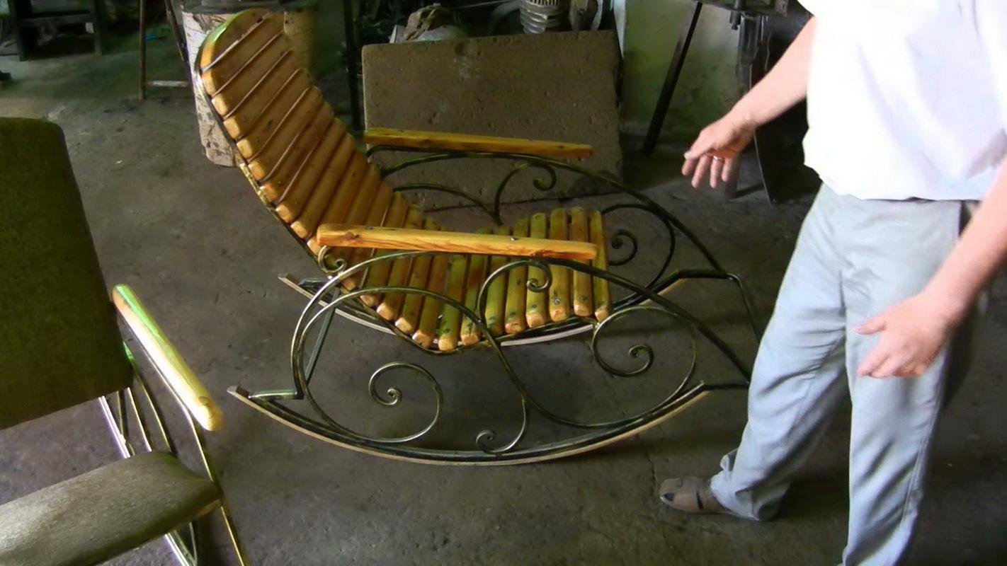 Как сделать своими руками металлическую мебель