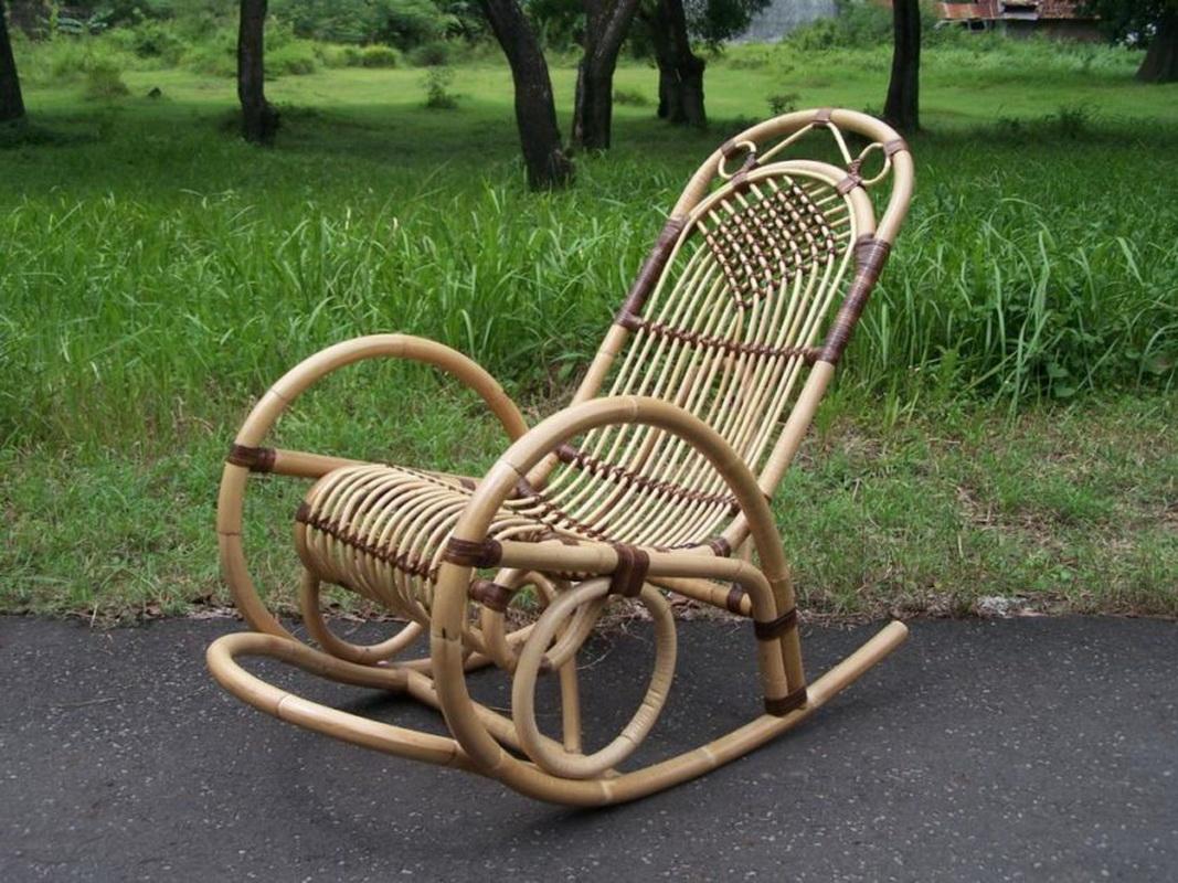 Кресло качалка своими руками в домашних условиях фото 83