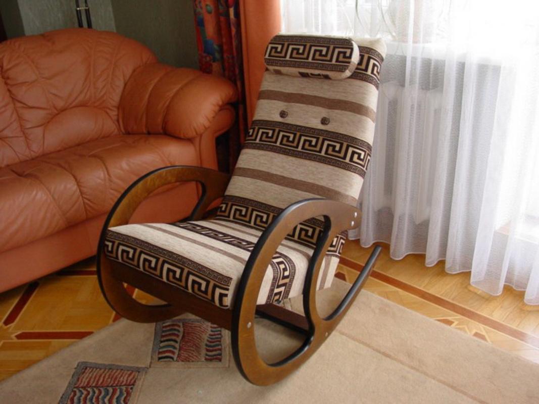Кресло качалка своими руками в домашних условиях фото 334