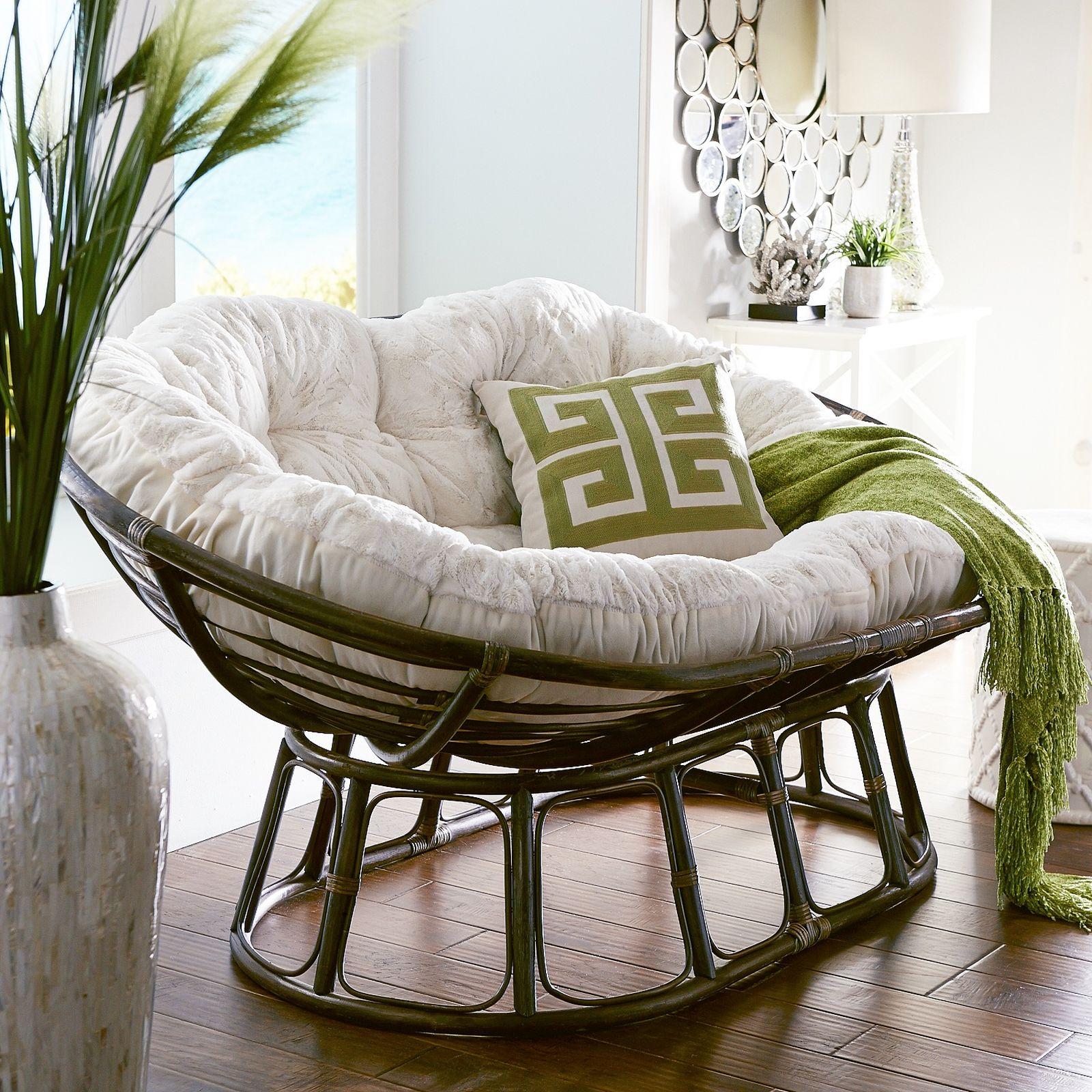 Кресло Papasan (50 фото качалка из ротанга и подушка для нее) 16
