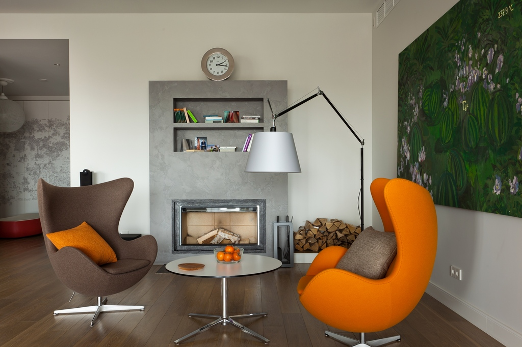 Интерьер с креслами