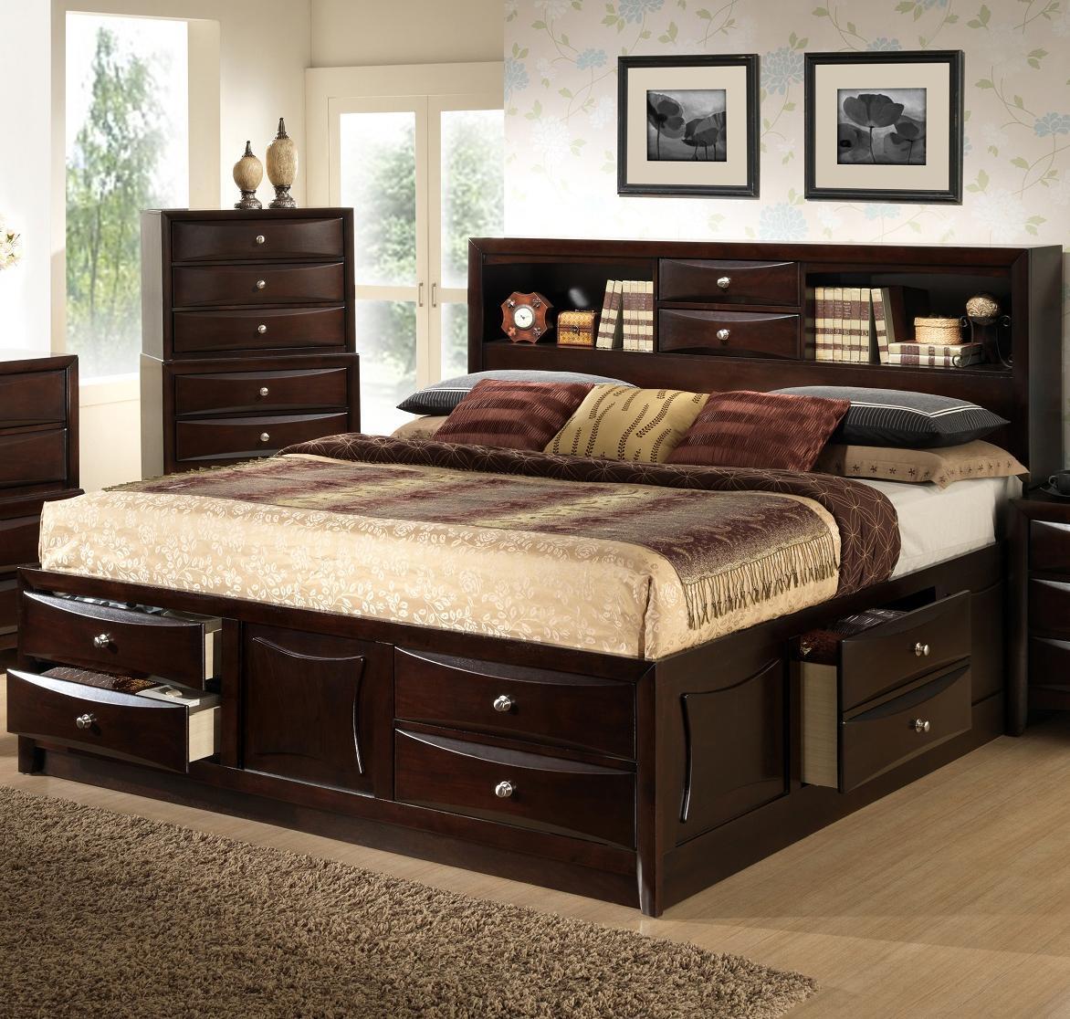 Кровати с полками в изголовье 19 фото модели с удобными