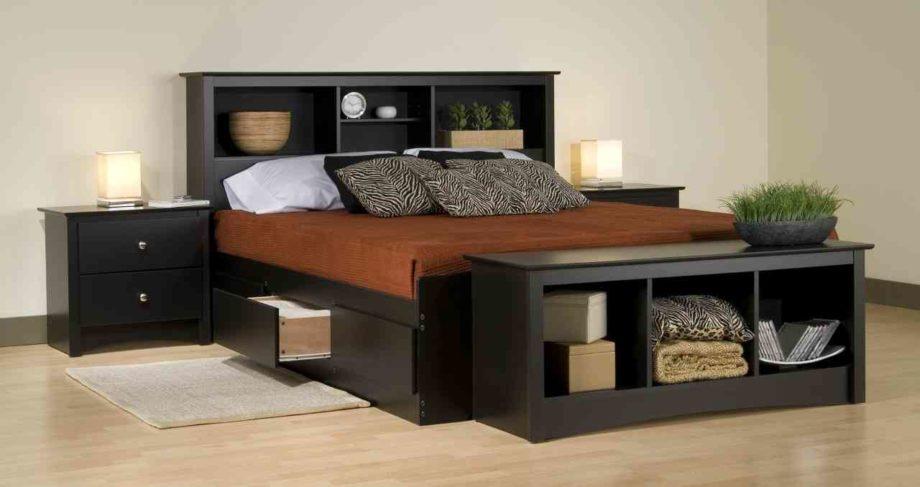 кровати с полками в изголовье 19 фото модели с удобными полочками