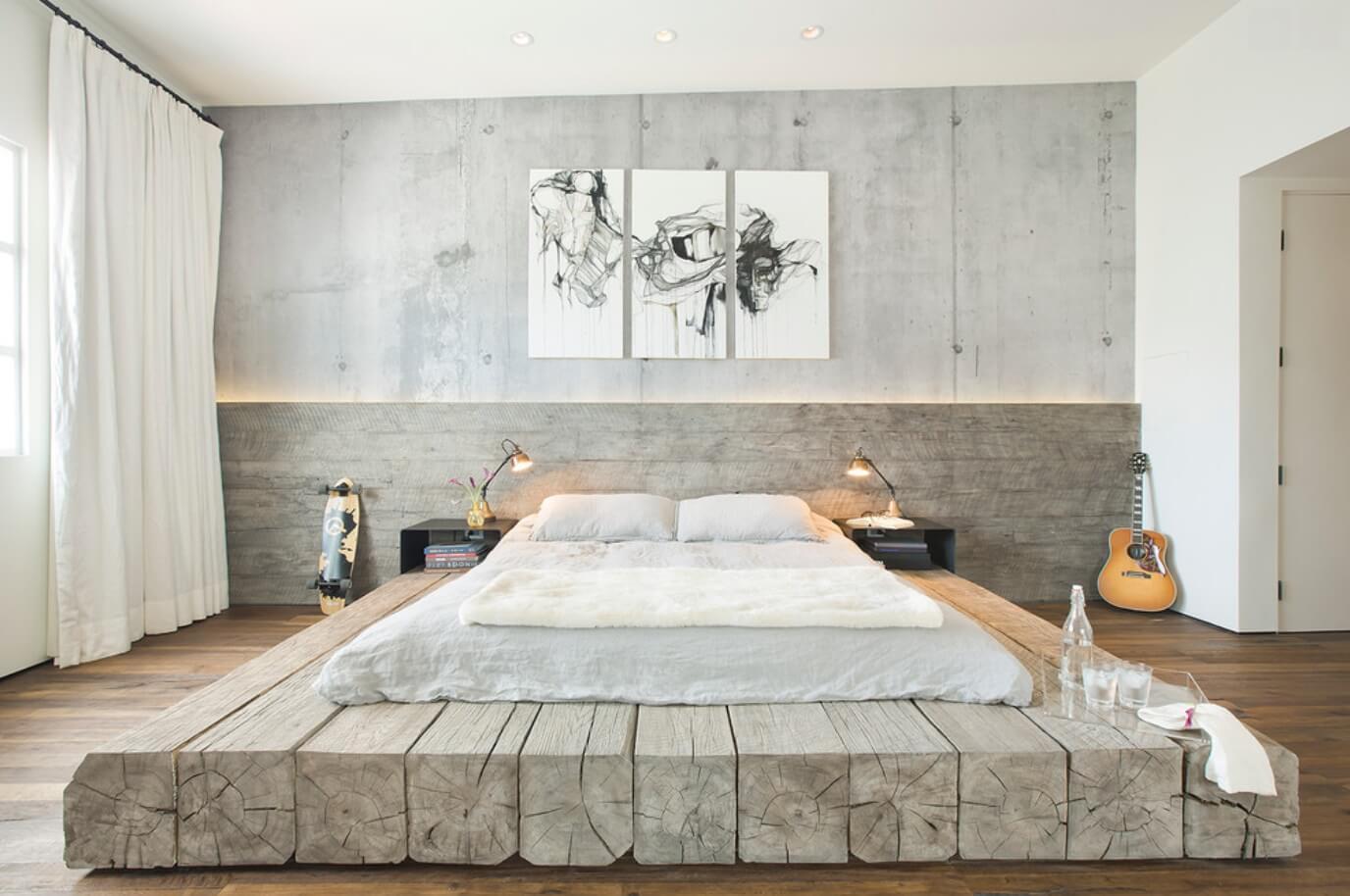Кровать на полу своими руками фото 5