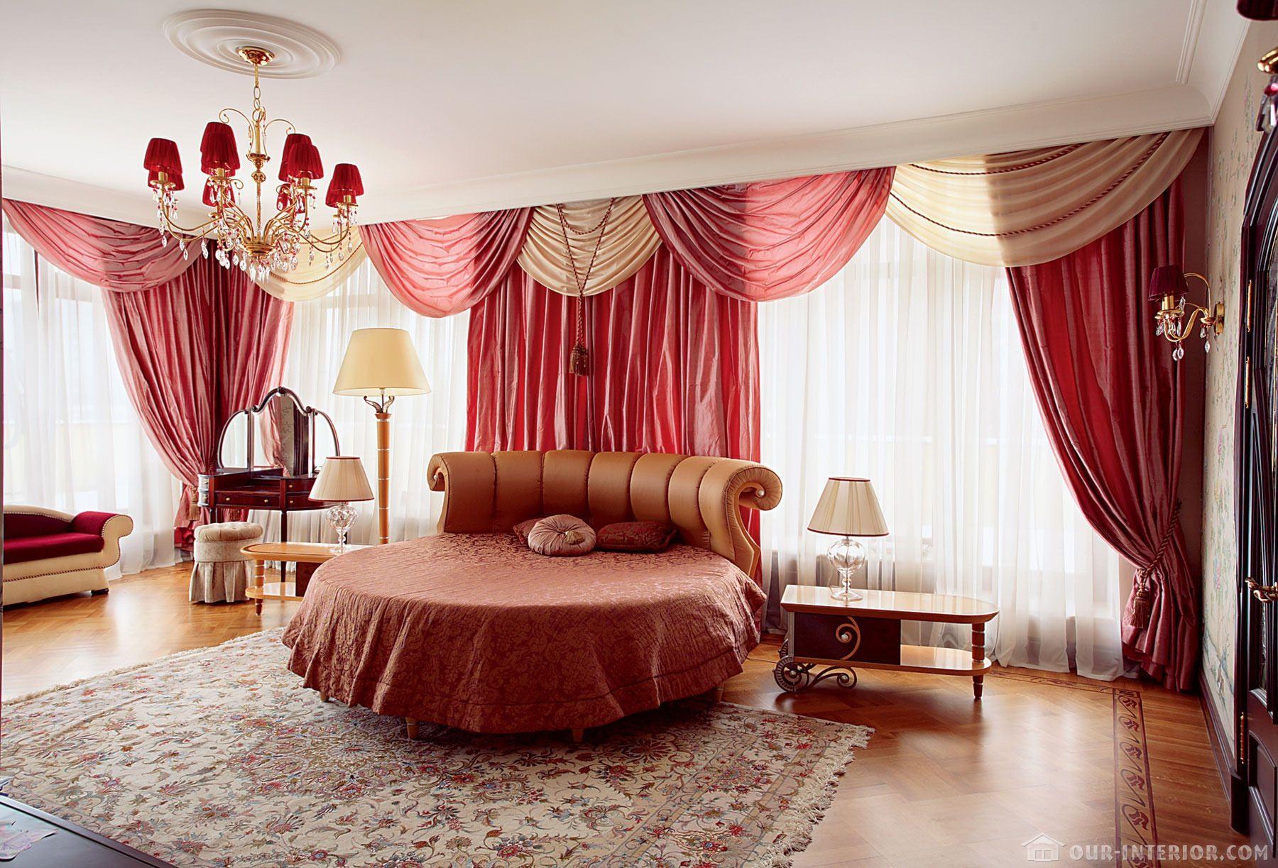 Дизайн ламбрекенов в спальню