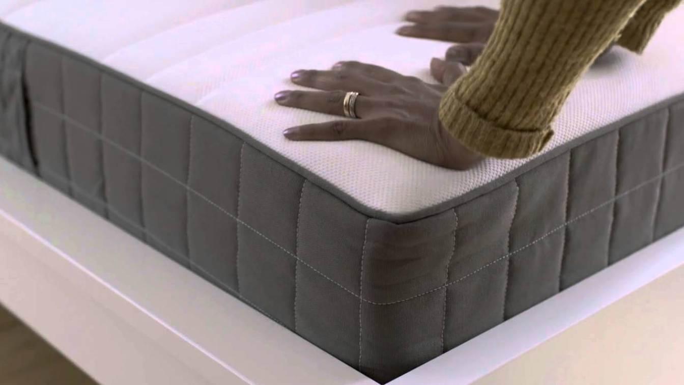 Boxspring Matras Ikea : Матрасы ikea «hovag модель с пружинами карманного типа в разрезе