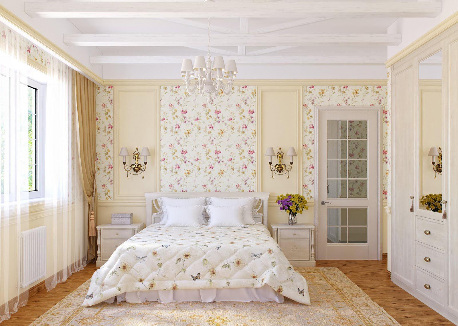фото стиль прованс спальня