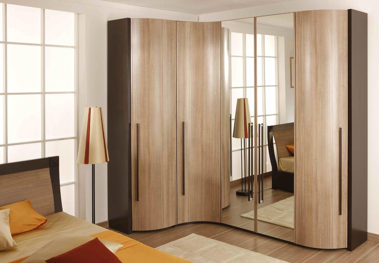 Угловой шкаф в спальню (123 фото): идеи дизайна, размеры, ма.