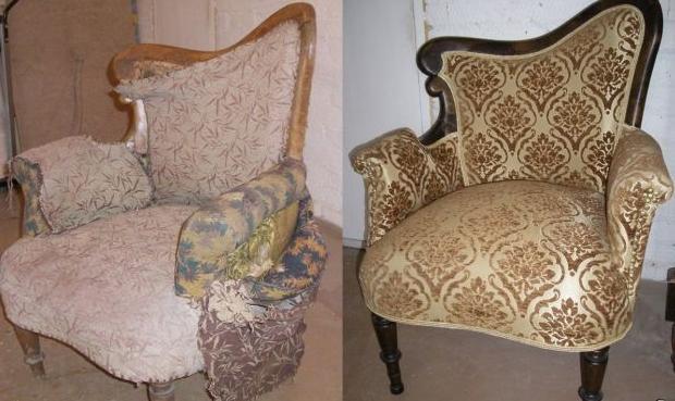 Пружинное кресло своими руками 972