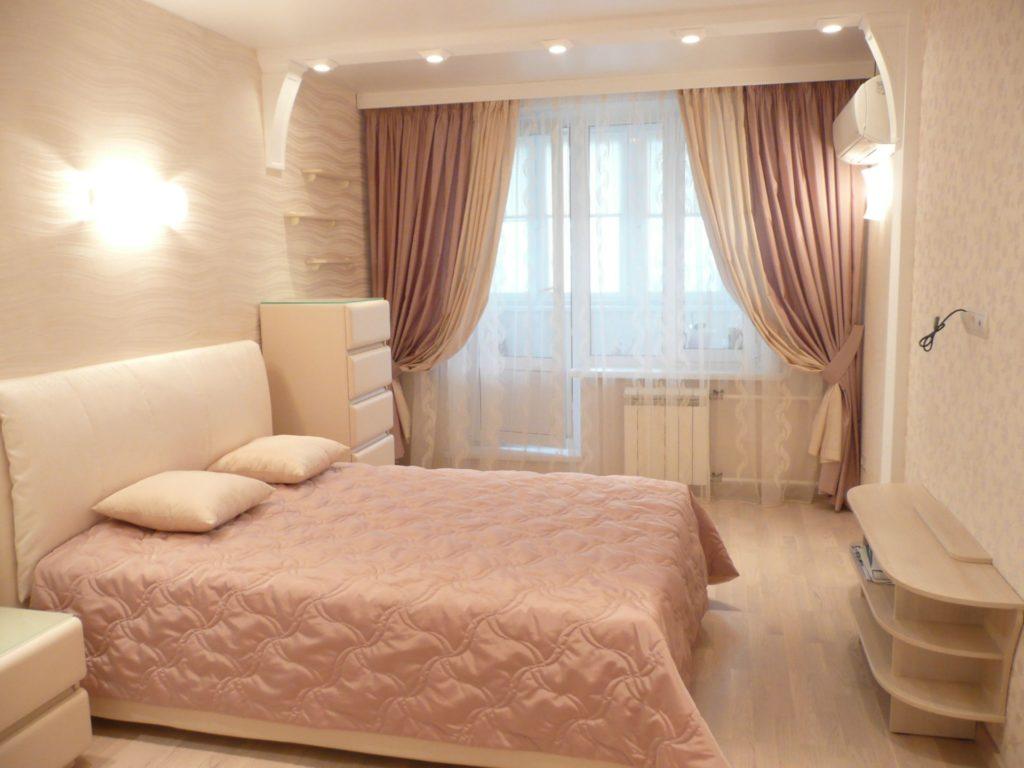 шторы в спальню