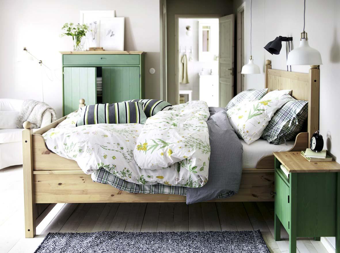спальни Ikea 64 фото дизайн интерьера в стиле икеа текстиль