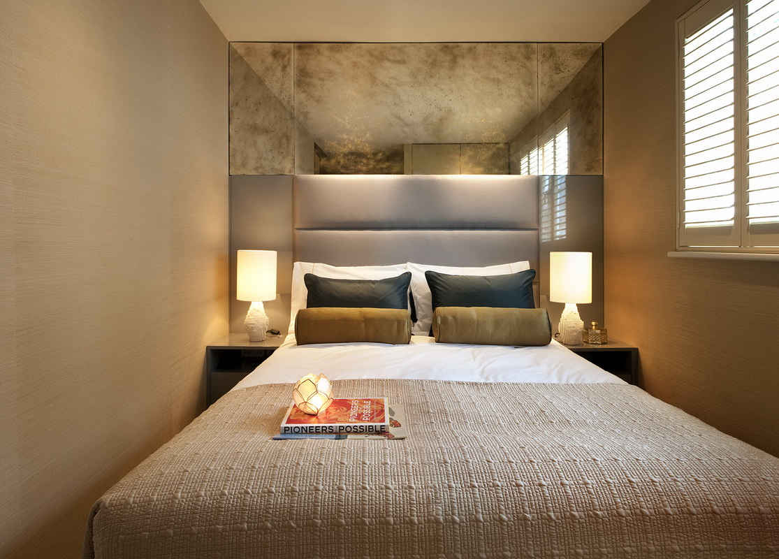 Фото узких спален дизайн