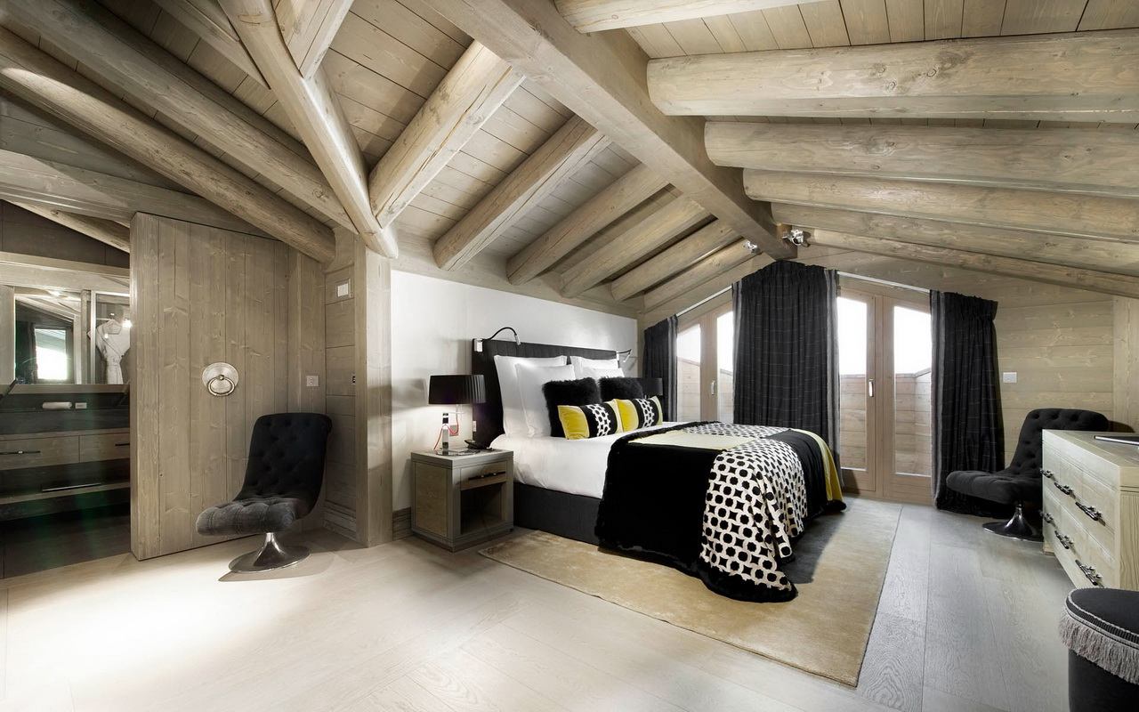 лофт дизайн комнаты 6