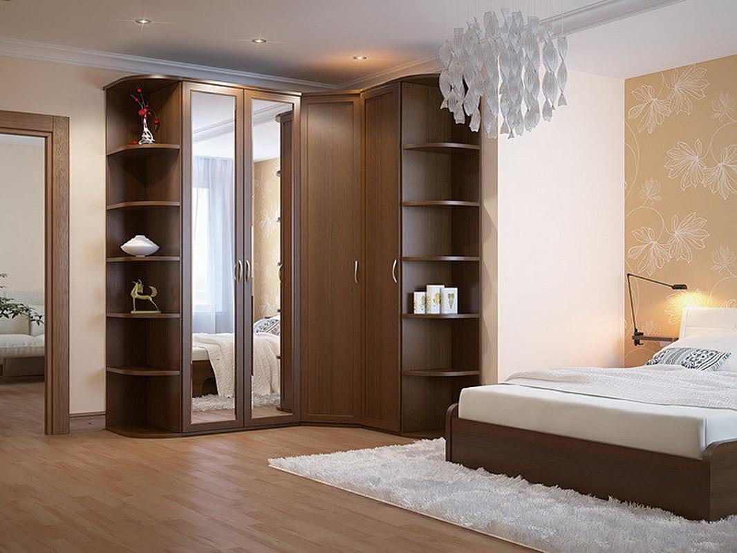 Угловые шкафы в спальню (86 фото): дизайн-идеи и размеры, ма.