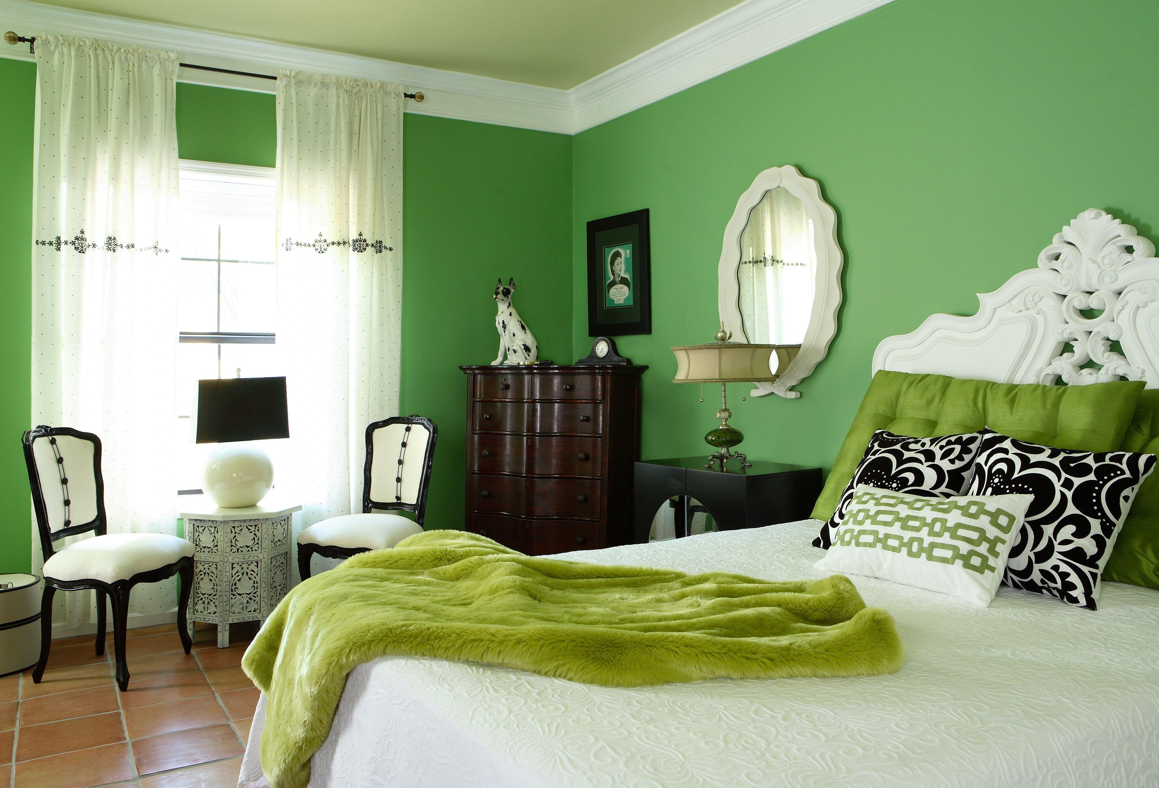 После сна все зеленого цвета