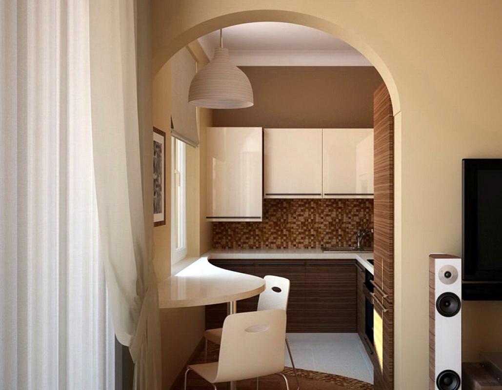 Арки на кухню вместо дверей (49 фото как оформить красивые) 72