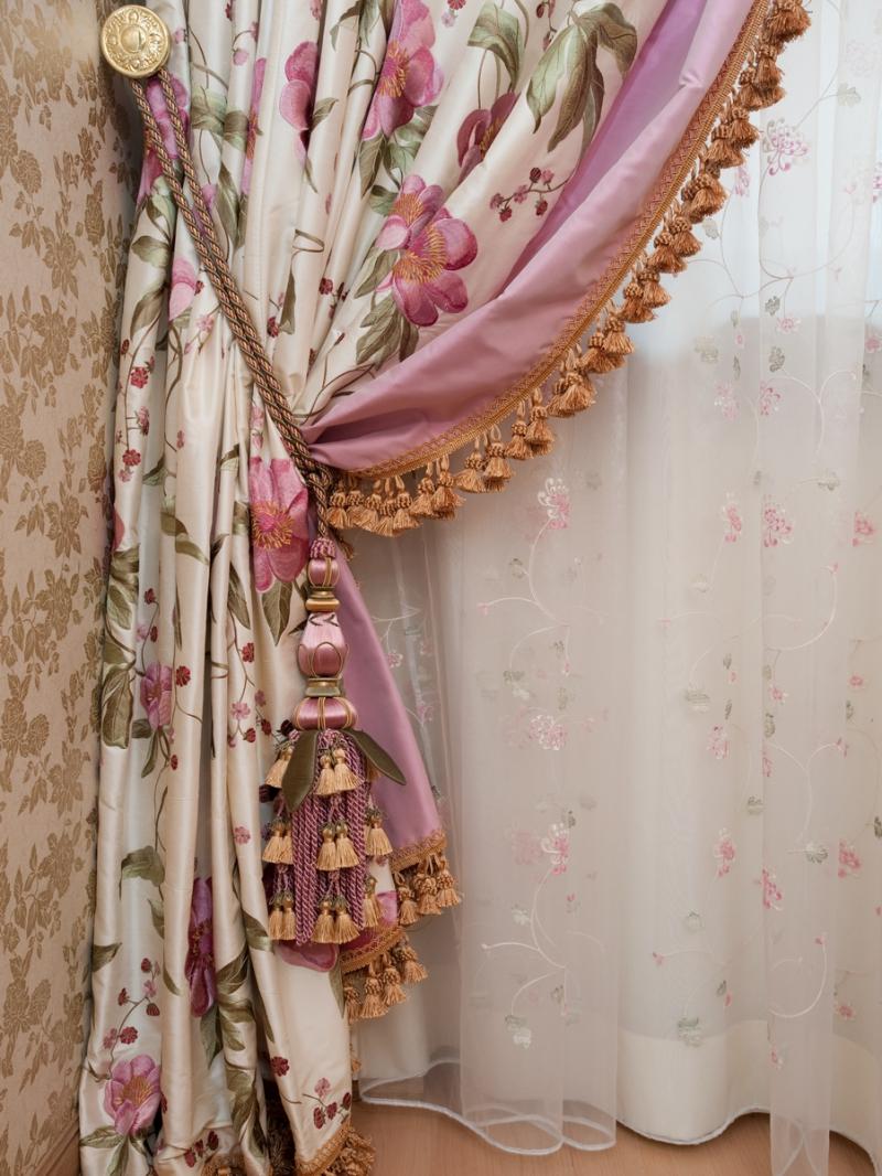 Как оригинально украсить шторы своими руками? (20 фото) 6