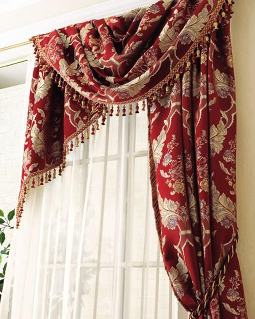 шторы тесьма для кухни