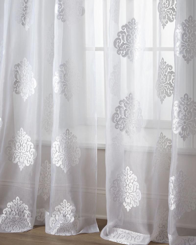 шторы в светлый интерьер