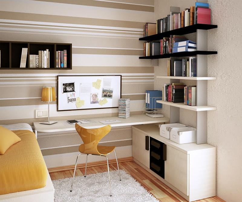 Письменные столы в интерьере фото