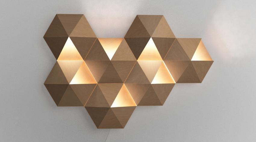 Современный светильник-бра