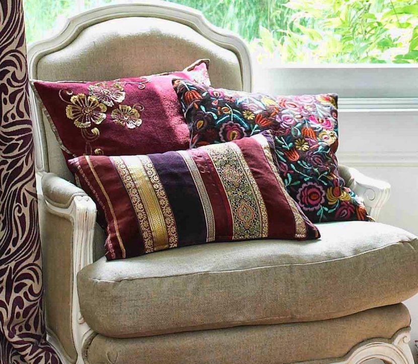 dekorativnye-podushki Декоративные подушки своими руками — фотосоветы