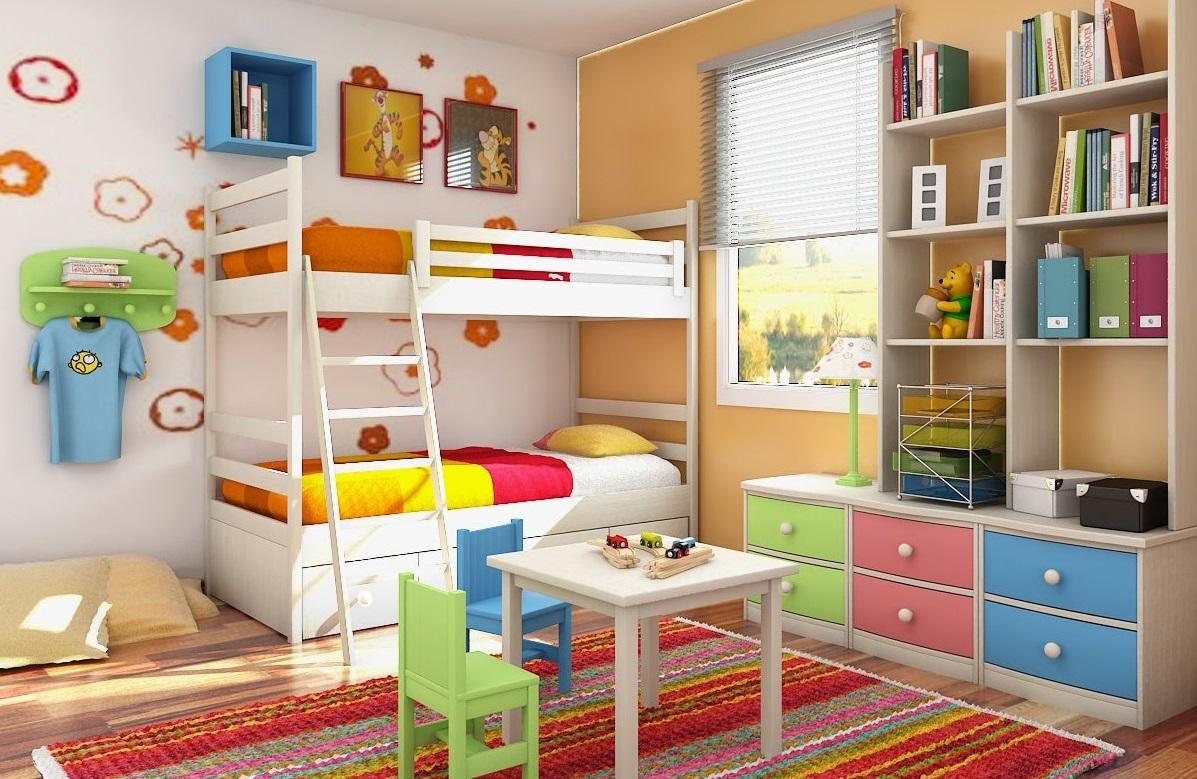Дизайн детской уголка в комнате