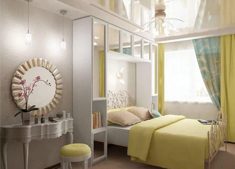 Интерьер спальня в хрущевке фото