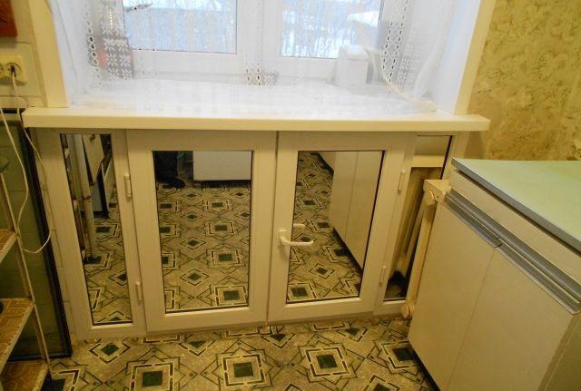 Холодильник под окном отделка своими руками фото фото 837