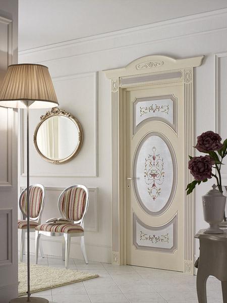 итальянские двери для стильного интерьера элитная классика в белом