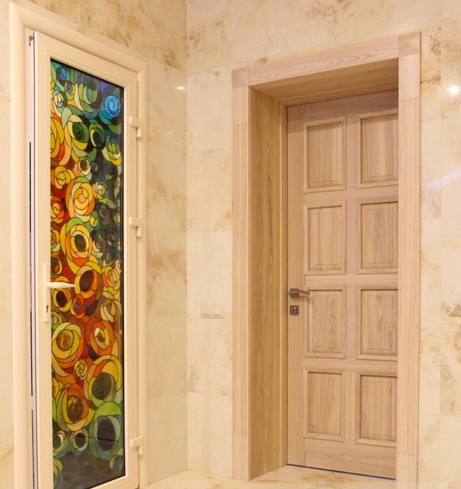 Двери с доборами в интерьере фото