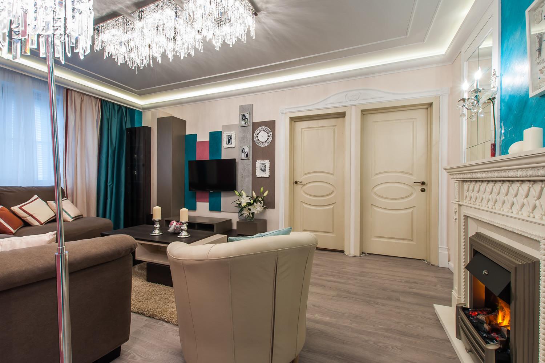 Дизайн проходных гостиных комнат 200