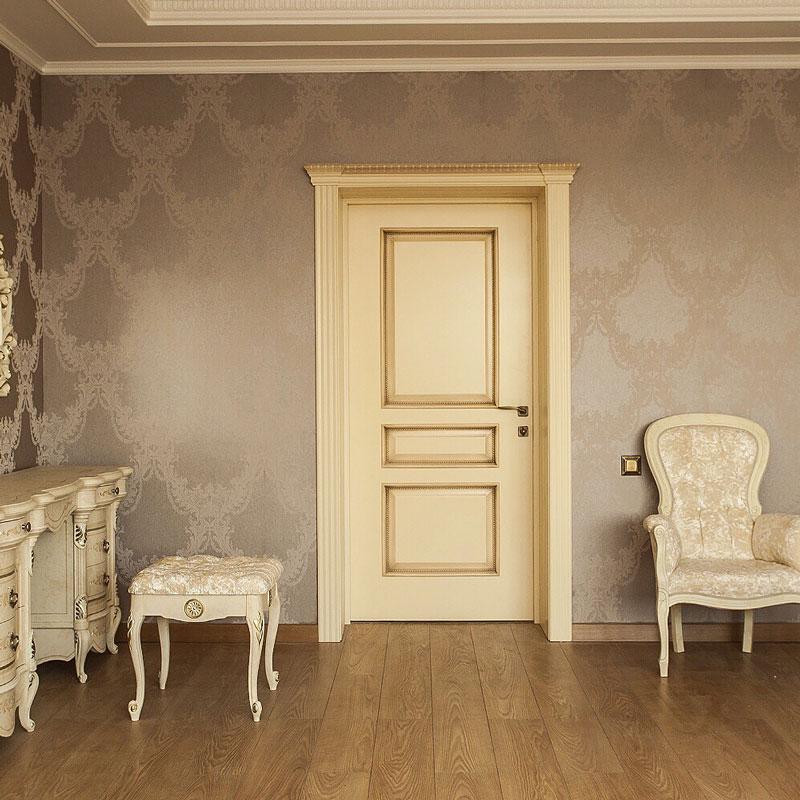 Белый цвет дверей в интерьере