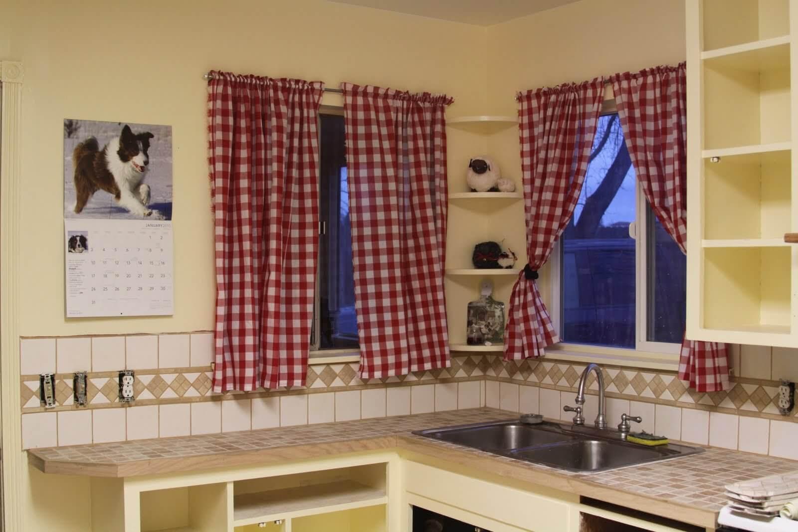 шторы на окно со столом