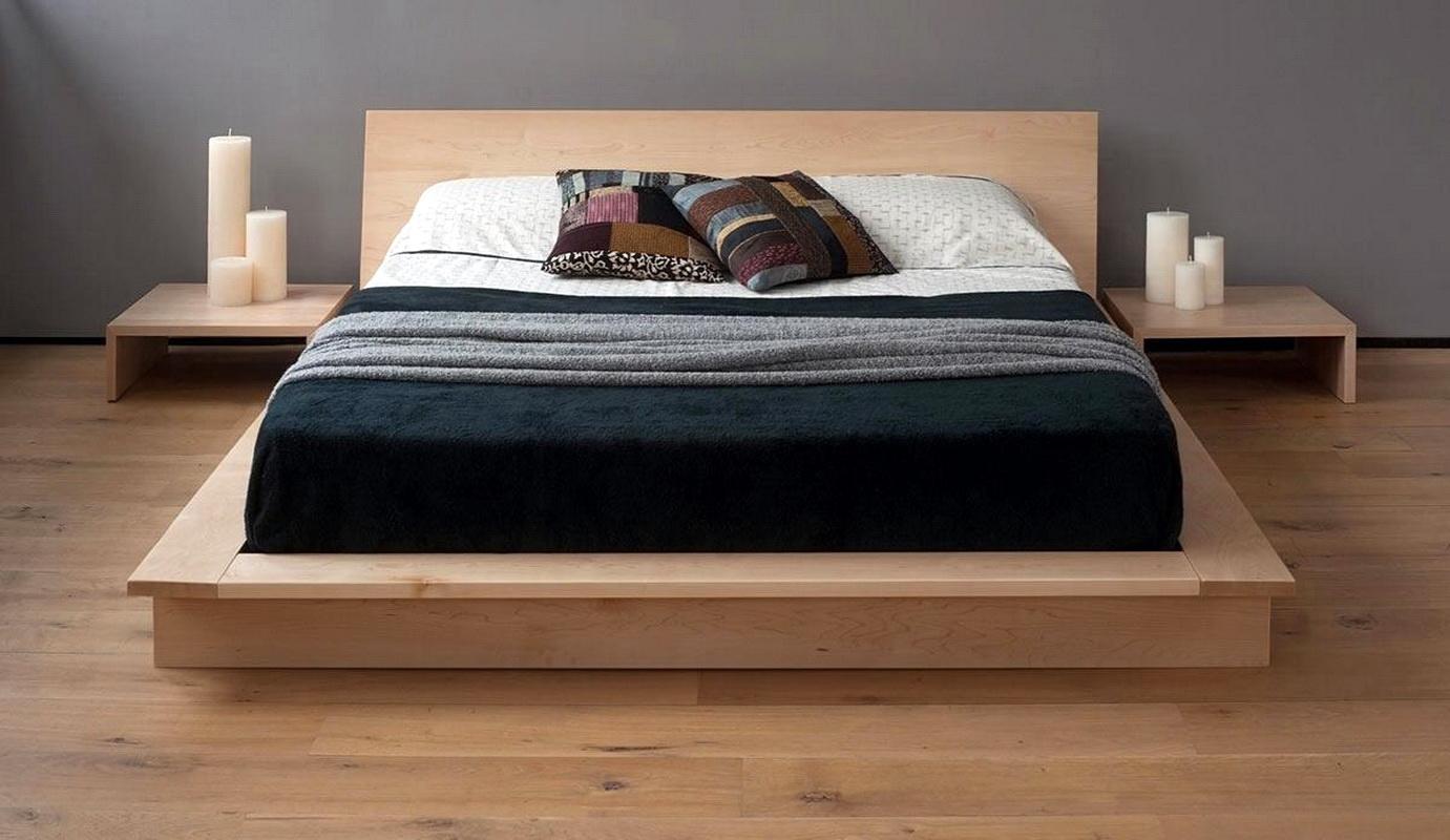 Двуспальная кровать подиум своими руками