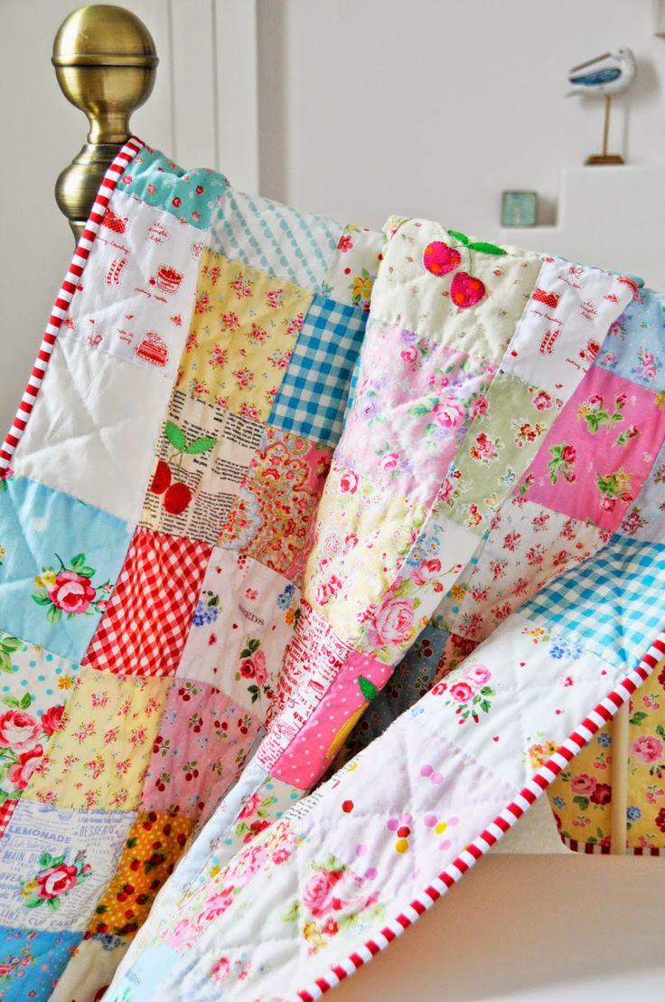 loskutnye-odeyala Мастер-класс: Шьем лоскутное одеяло в стиле пэчворк