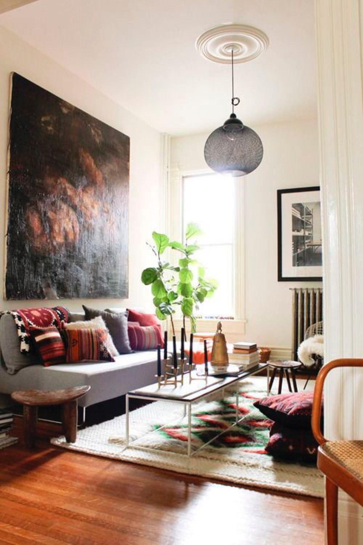 Bohemian living Room  Bohemain Boho