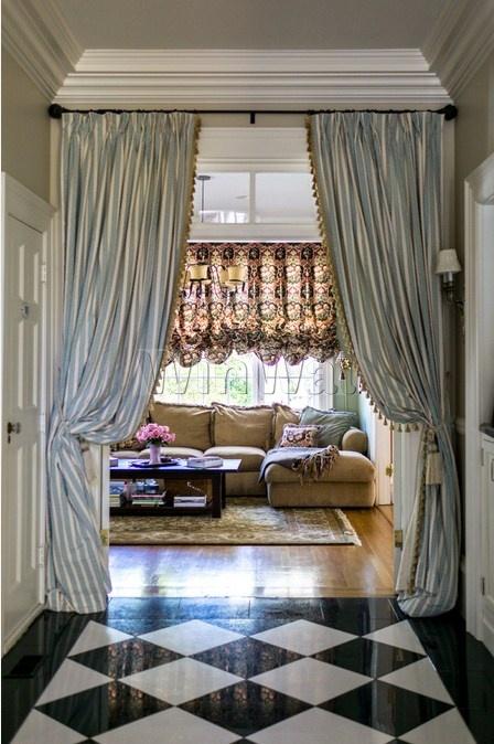 шторы и двери