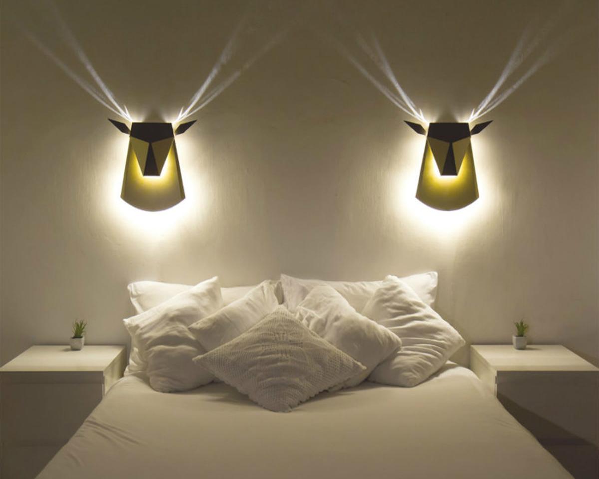 Ночники в спальню своими руками