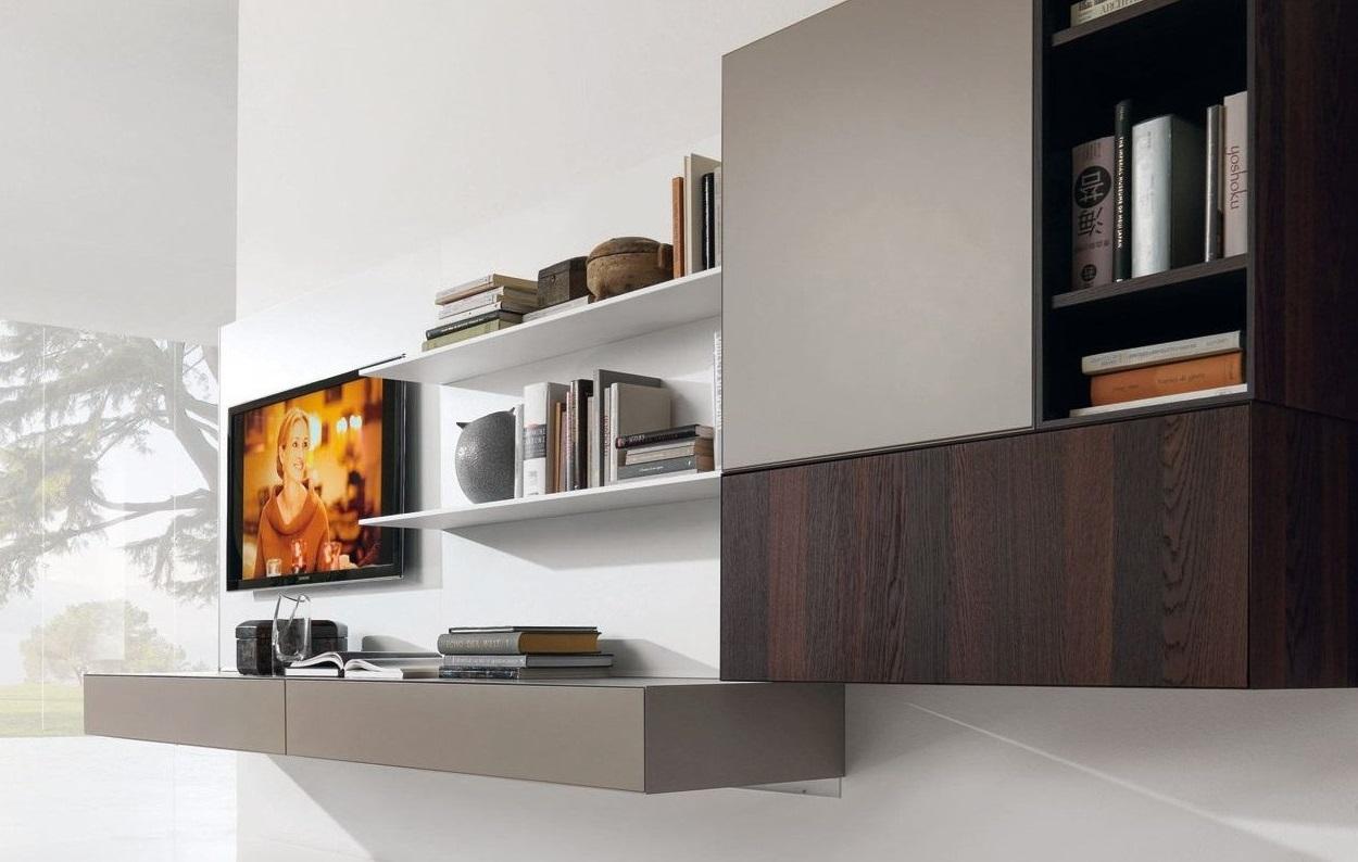 Шкаф навесной для гостиной дизайн