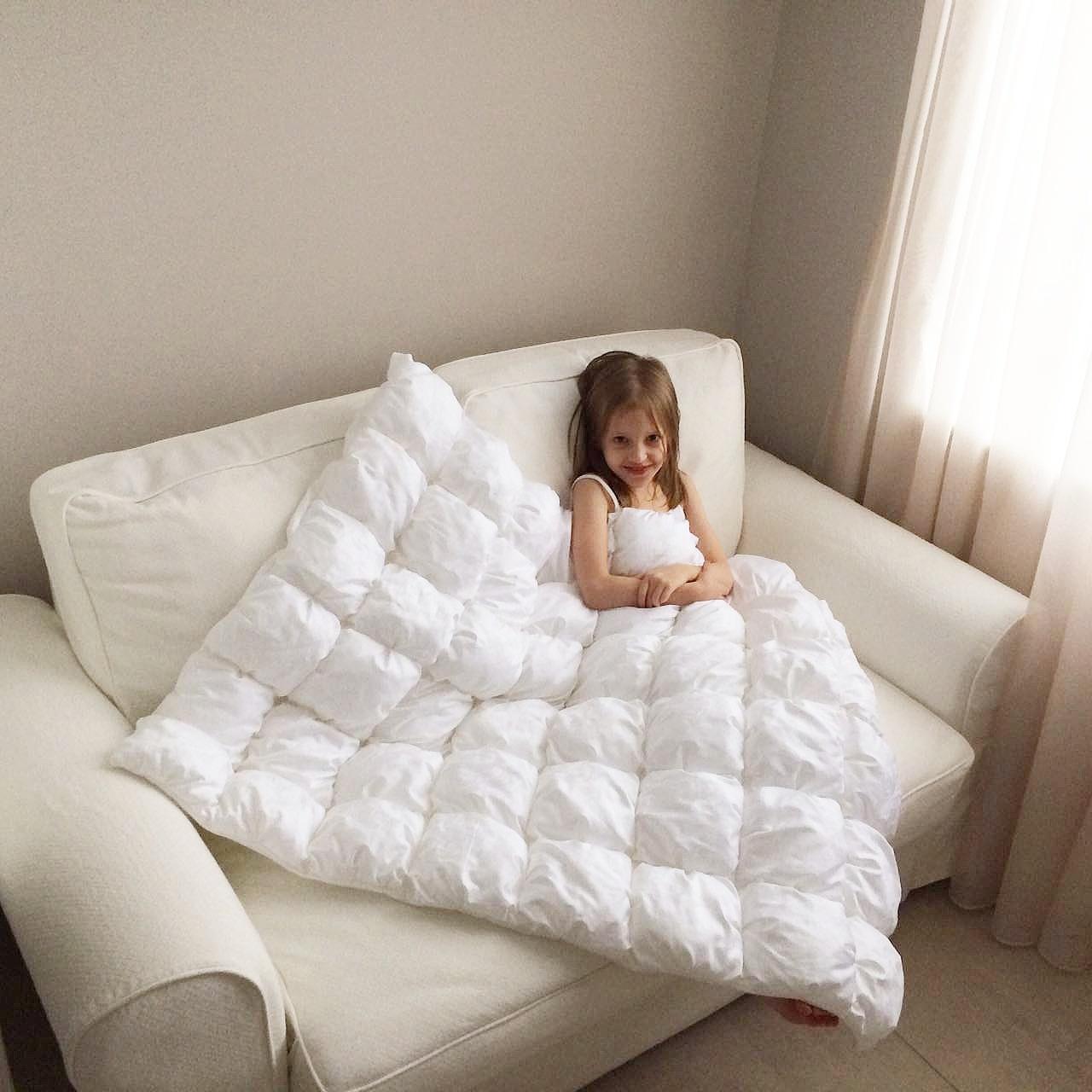 Как сшить одеяла из подушечек